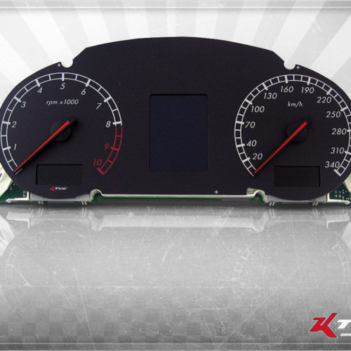 Tachoscheibe Lamborghini Gallardo MPH Umrüstung