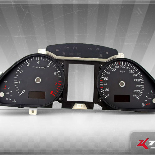 Tachoscheiben Audi Q7 4L MPH Umrüstung