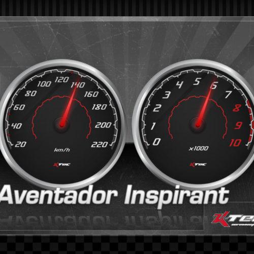 Tachodesign Aventador