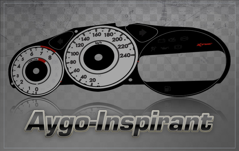 Tachodesign Aygo