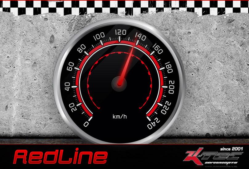 Tachodesign Red Line
