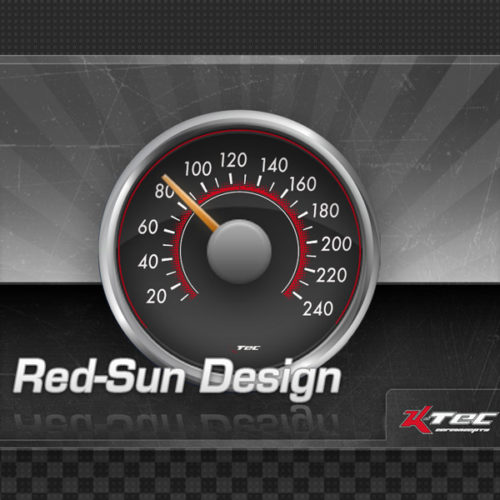 Tachodesign Red Sun