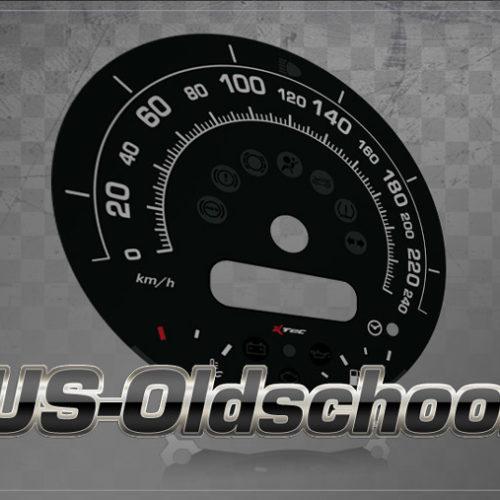 Tachodesign US Oldschool