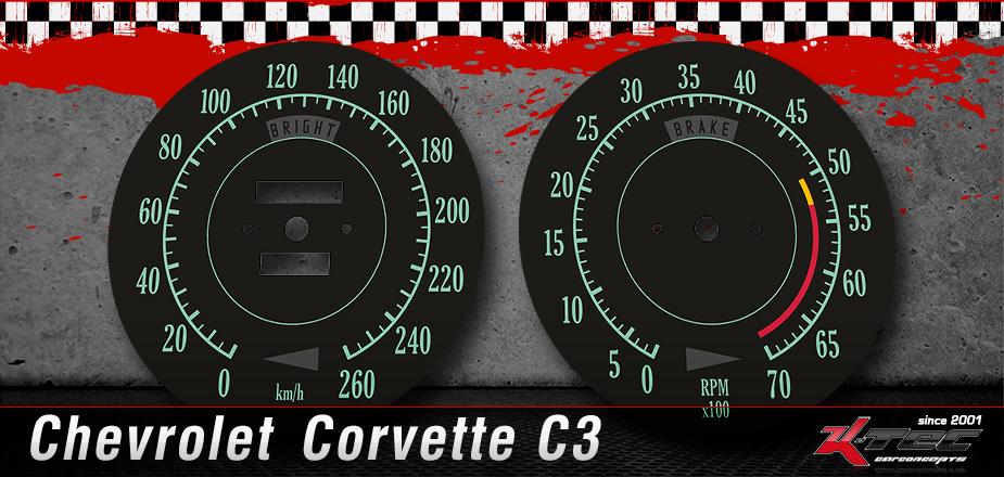 Tachoscheiben Chevrolet C3