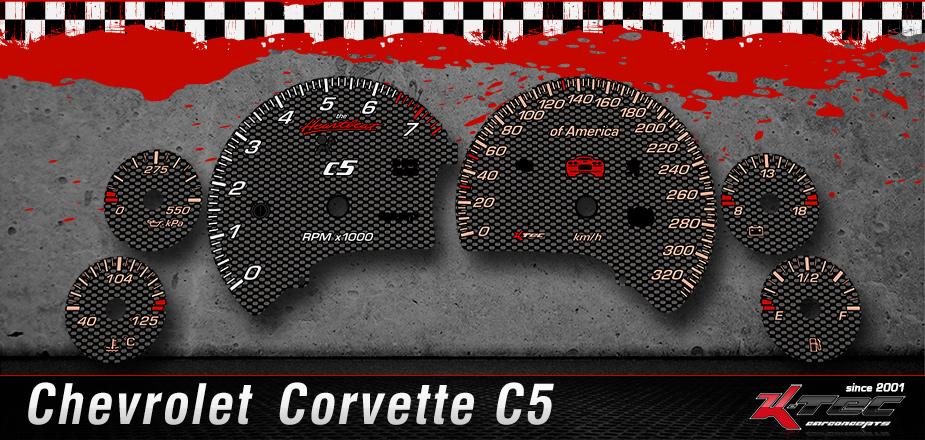 Tachoscheiben Chevrolet C5