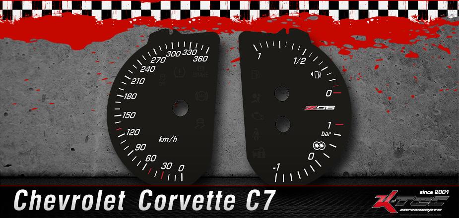 Tachoscheiben Chevrolet C7 Z06 ZR1