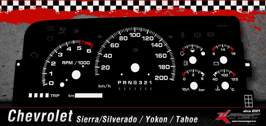 Chevrolet Sierra Silverado Yokon Tahoe