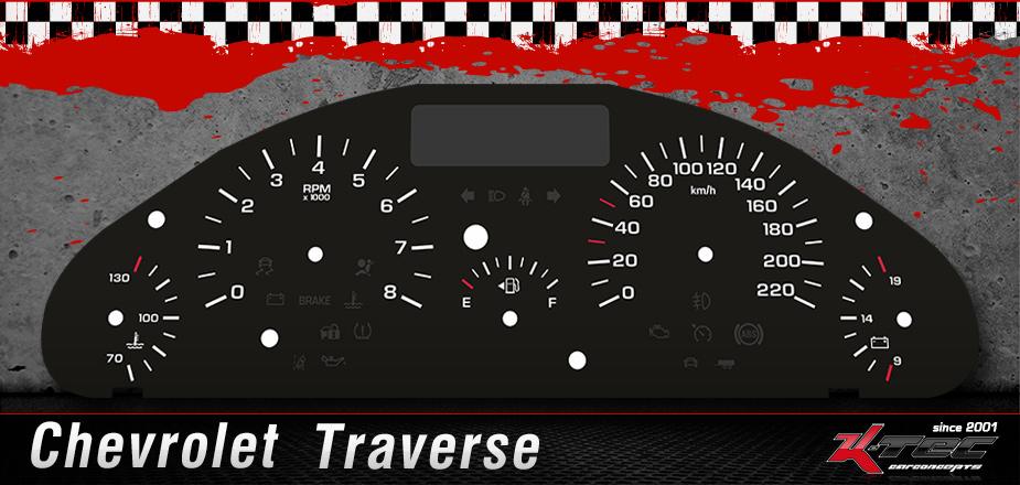 Tachoscheibe Chevrolet Traverse