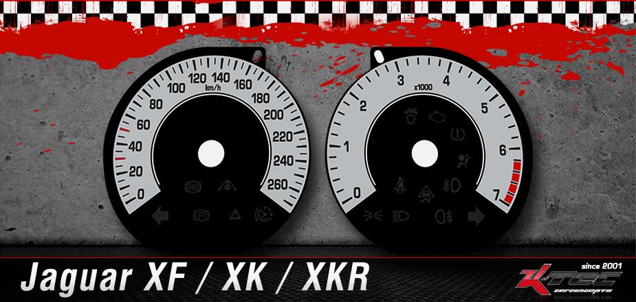 Tachoscheiben Jaguar XF / XK / XKR