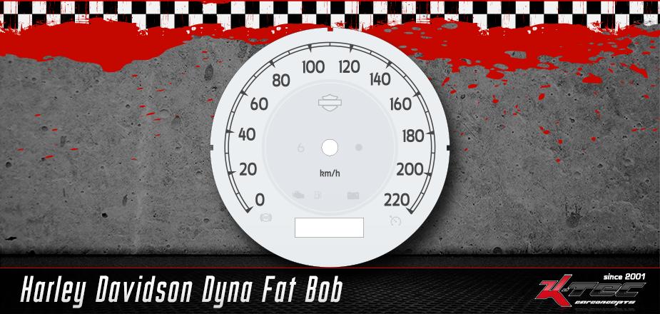 Tachoscheiben Harley Davidson Dyna Fat Bob