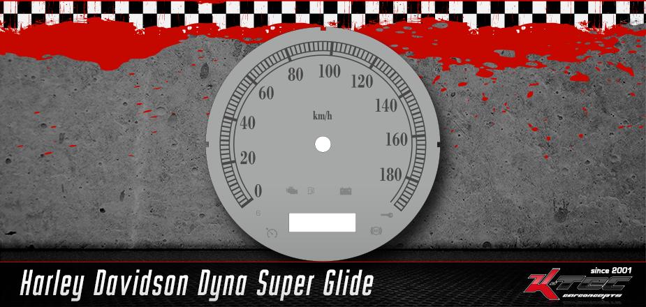 Tachoscheiben Harley Davidson Dyna Super Glide