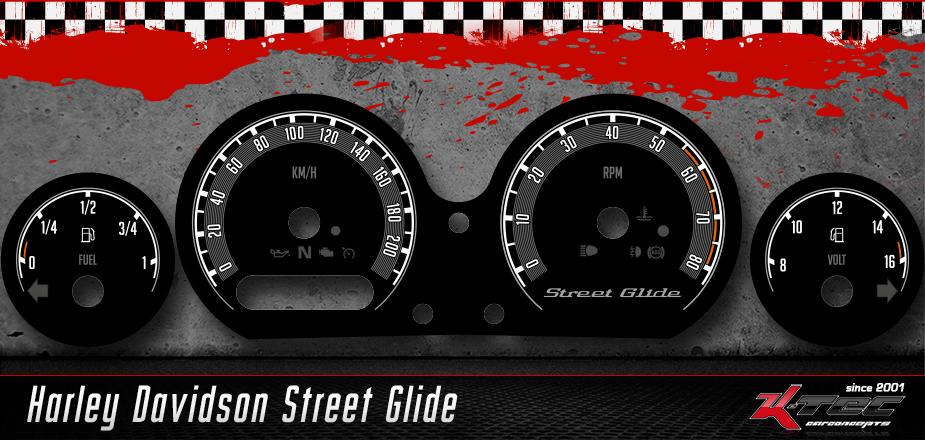 Tachoscheiben Harley Davidson Street Glide