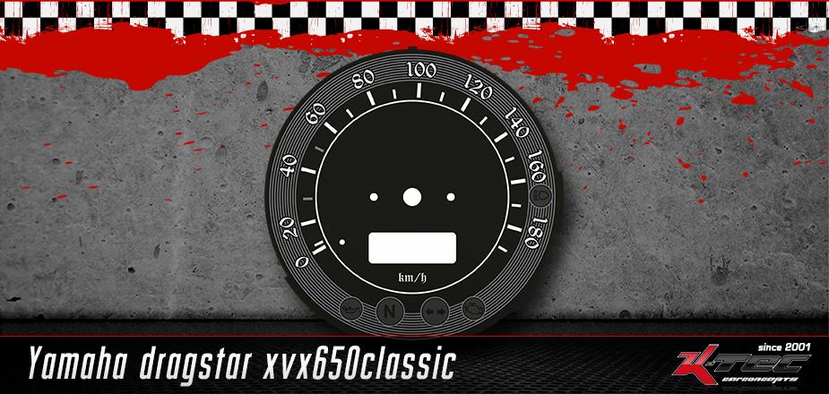 Tachoscheibe Yamaha Dragstar XVX650 Classic