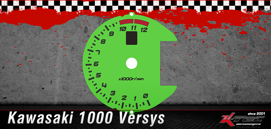 Tachoscheibe Kawasaki 1000 Versys
