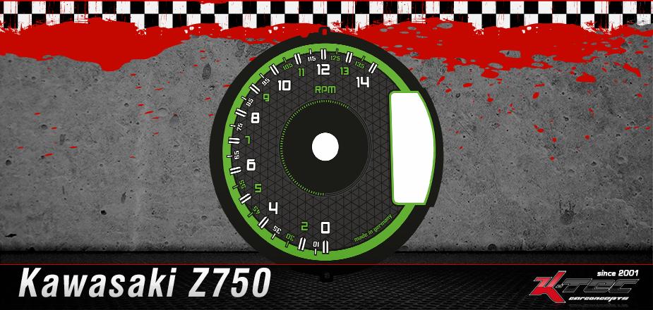 Tachoscheibe Kawasaki Z750