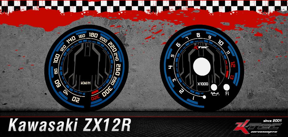 Tachoscheiben Kawasaki ZX12R