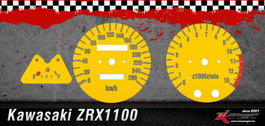 Tachoscheiben Kawasaki ZRX1100