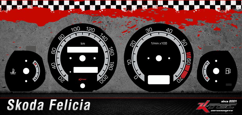 Skoda Felicia Tachoscheiben