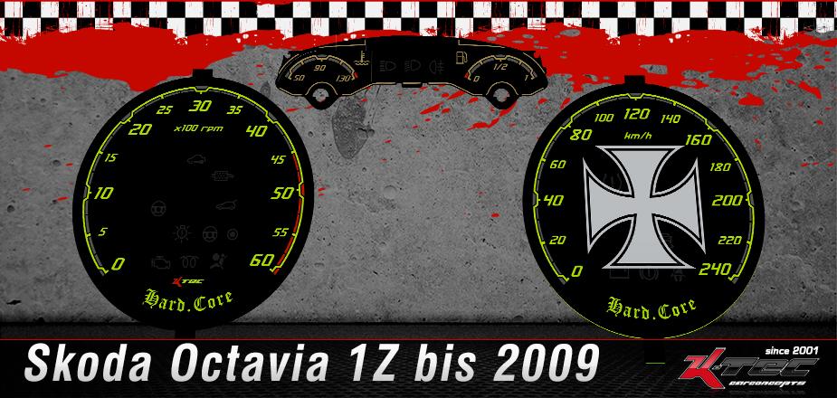 Skoda Octavia 1Z3 Tachoscheiben