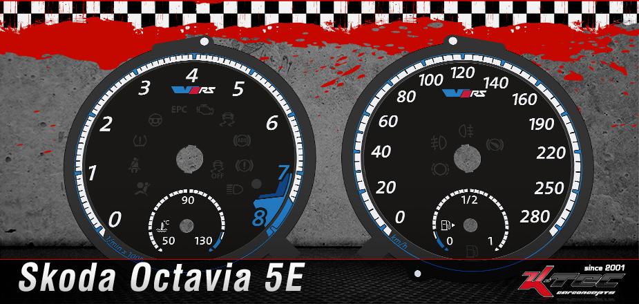 Skoda Octavia 5E Tachoscheiben