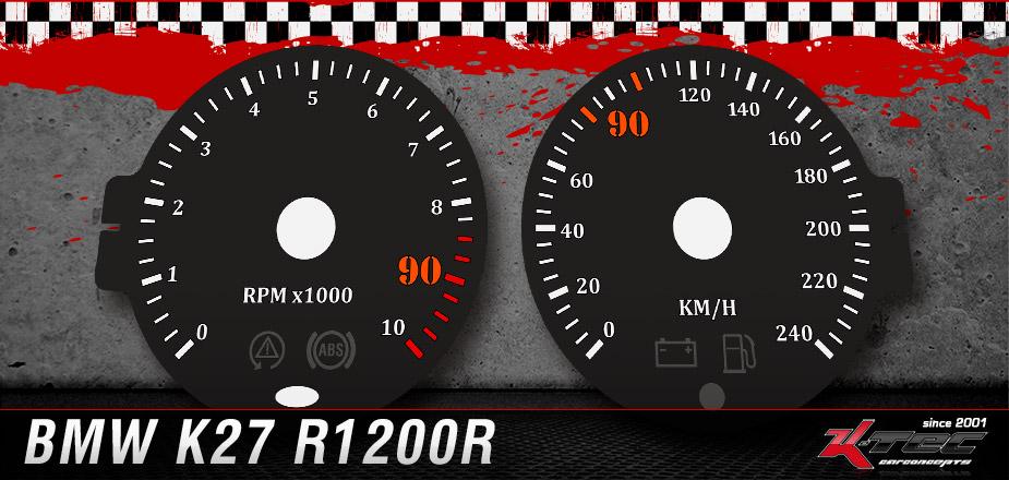 Tachoscheiben BMW K27 R1200R