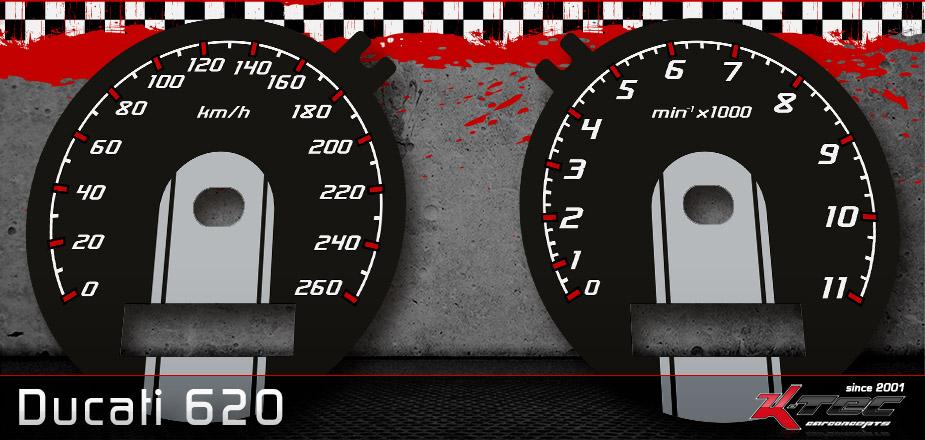 Tachoscheiben Ducati 620