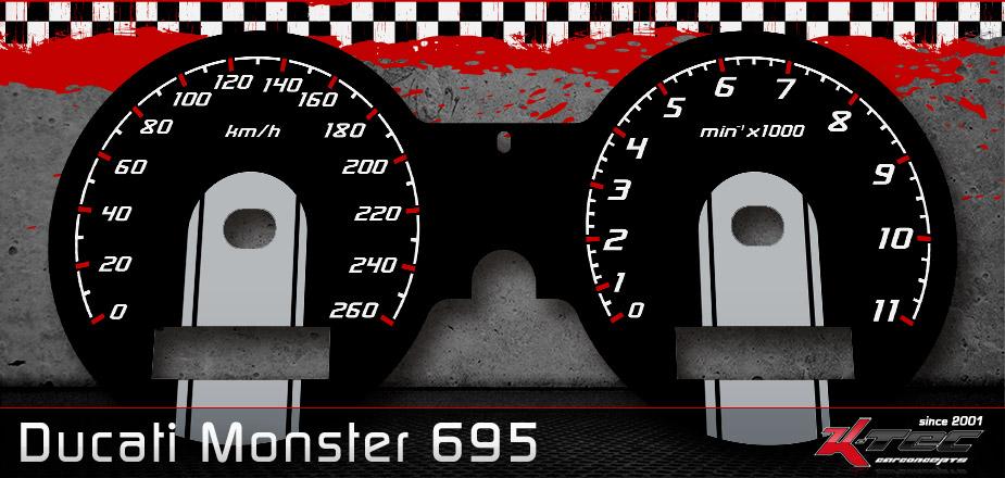 Tachoscheiben Ducati Monster 695