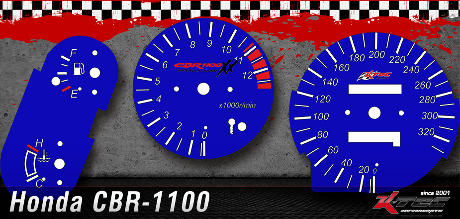 Tachoscheiben Honda CBR-1100