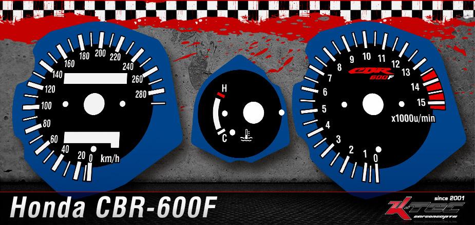 Tachoscheiben Honda CBR-600F