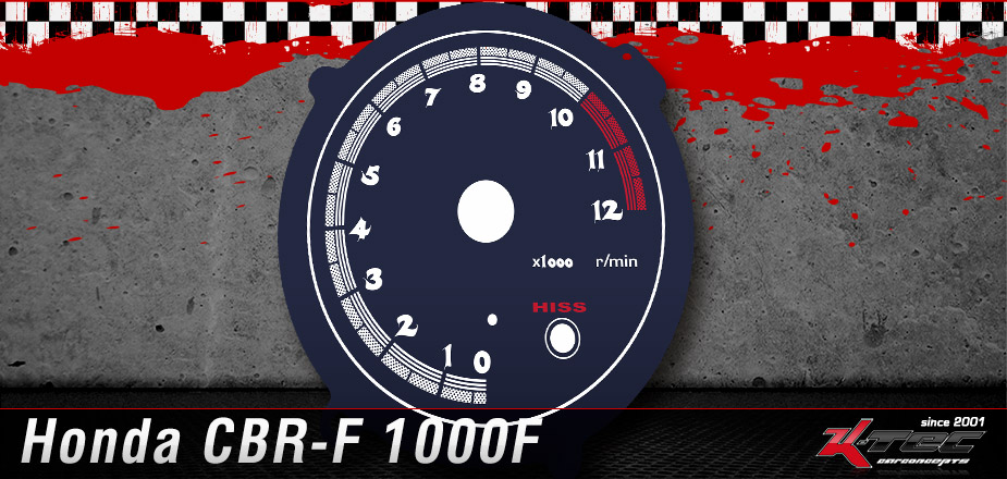 Tachoscheiben Honda CBR-F 1000F
