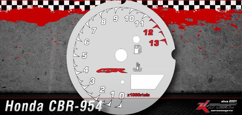 Tachoscheiben Honda CBR-954