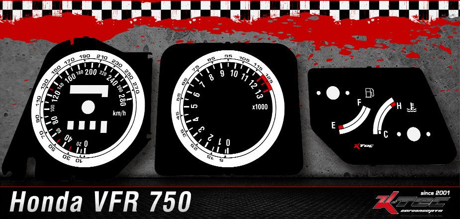 Tachoscheiben Honda VFR 750