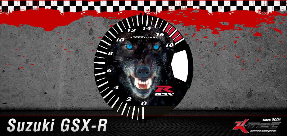 Tachoscheiben Suzuki GSX-R